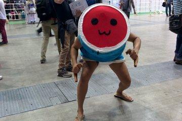 <p>Taiko drum cosplay</p>