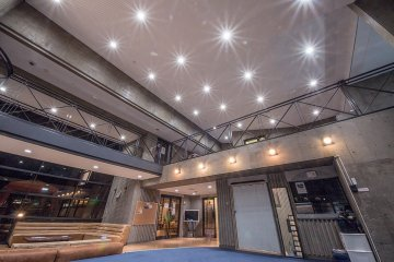 <p>There are two floors of social space at Comfort&nbsp;Higashikoganei</p>