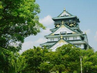 Selamat dayang di Osaka Castle, salah satu kastil tercantik di Jepang.