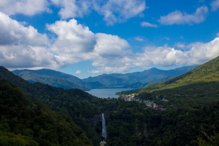 Lake Chuzenji, Early Autumn
