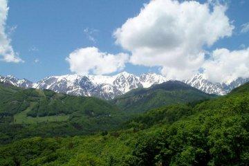 Hakuba mountain vistas