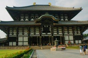 Selamat datang di kuil terbesar di Jepang: Todai-ji