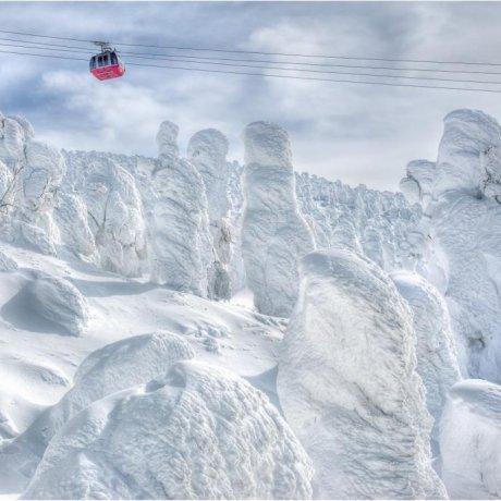 Zao, o Paraíso dos Monstros de Neve