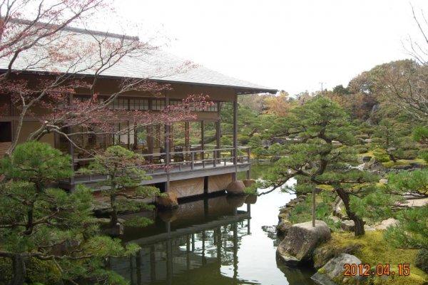 Tea room lake view