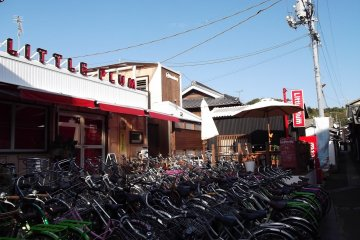 <p>Bicycles available for rent</p>