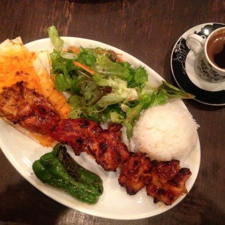 مقهى الكباب في شيبويا