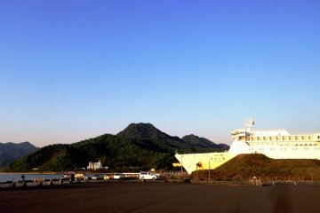 <p>Cruise ships rather than naval ships are more likely to bring visitors to this beautiful port of Maizuru.</p>