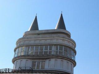 タワー最上部は展望台