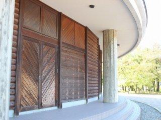 ウッドリームフクイは福井県産の木材を多用している