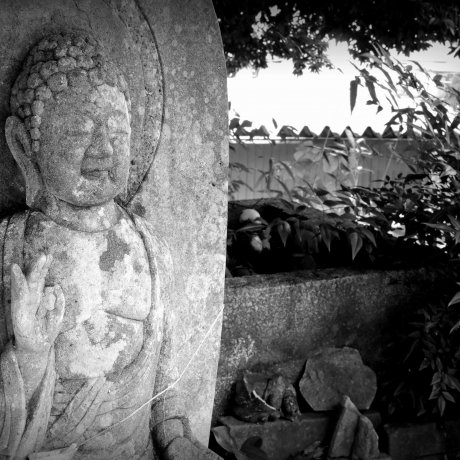 Fox Shrine Inside Taicho-ji Temple