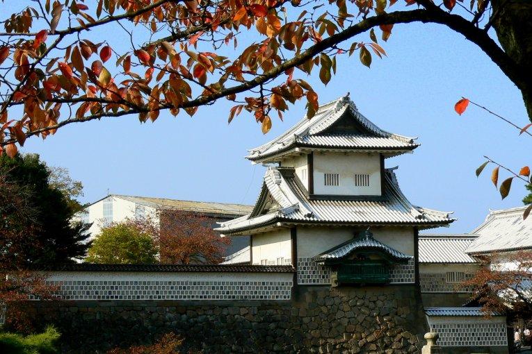 Vue sur le Château de Kanazawa