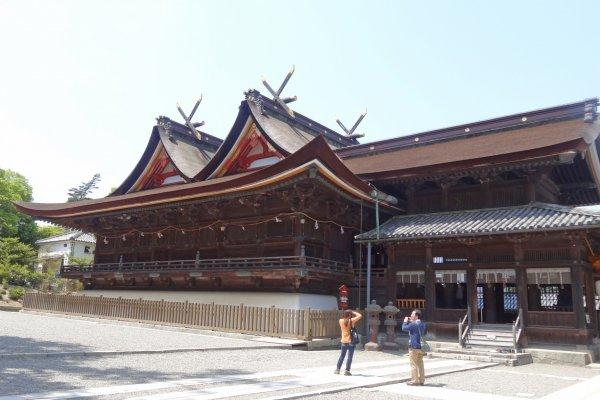 The exquisite main building