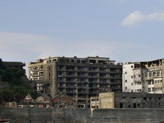 Lorsqu'on se tient ici, on peut facilement imaginer le nombre d'habitants qui vivaient dans ces bâtiments