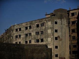 No. 30 and 31 Apartment Buildings; these seven-story buildings are the oldest high-storied buildings in Japan