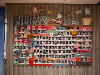 Wall of residence from all over the world