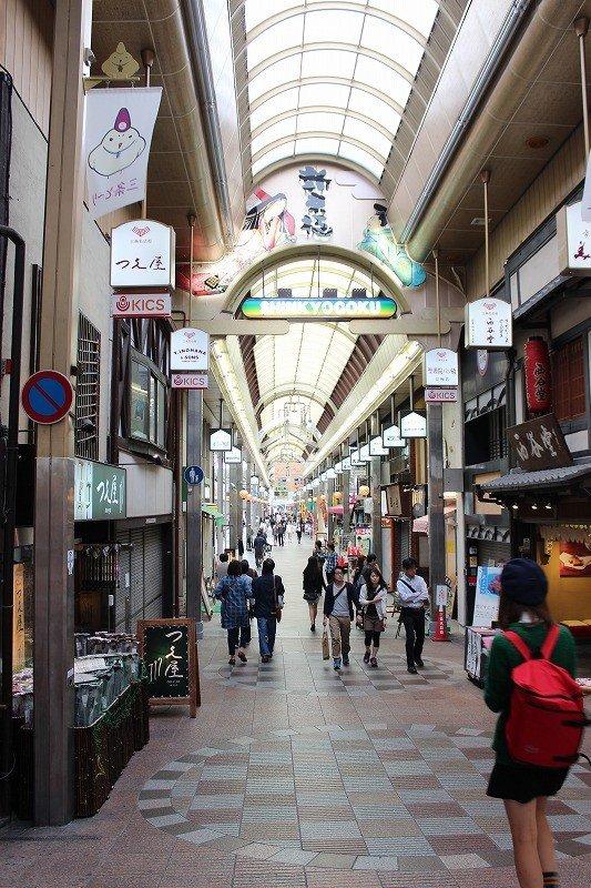 新京極通の歴史は京都の中にあっては比較的新しい