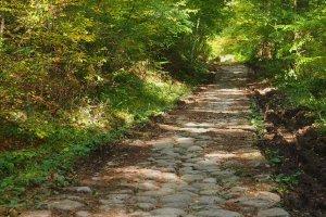Old Paved Walking Pass