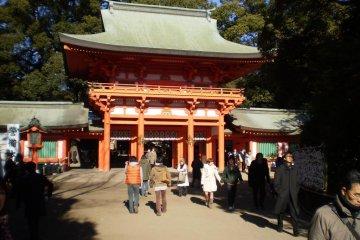 Omiya's Hikawa Shrine