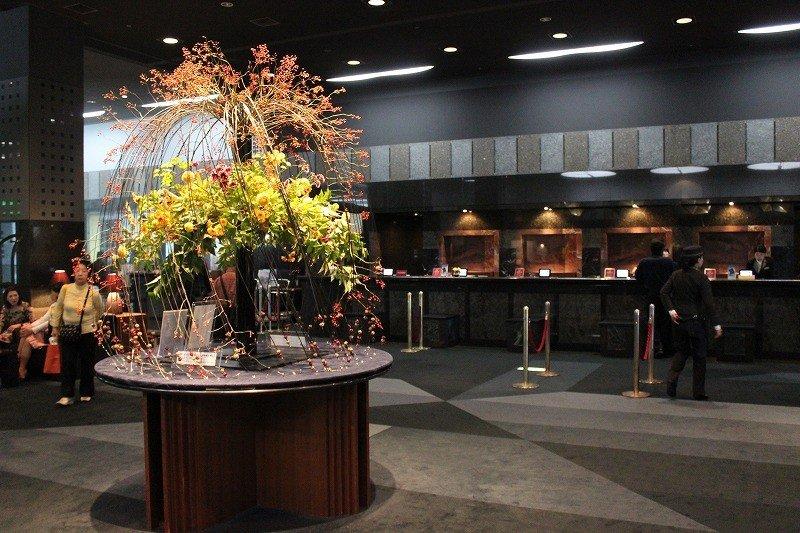 ホテルグランヴィア京都のロビー