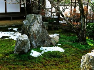 'Rokudo Garden', also known as 'The Garden of Commandments'
