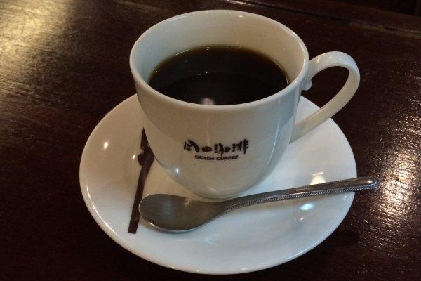 岡田珈琲のドリップコーヒー。