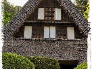 도요마 현(17세기 말)의 에무카이 가옥