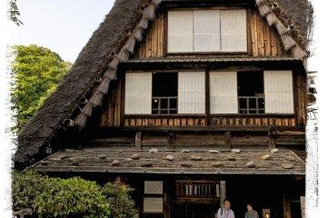 <p>Дом Ямасита из префектуры Гифу (начало 19-го века).</p>