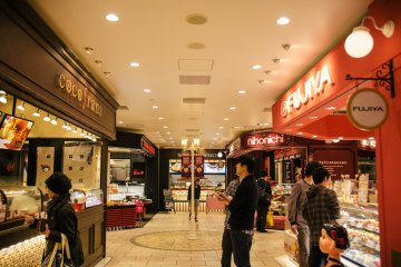 <p>Sweets and Pastries section.</p>
