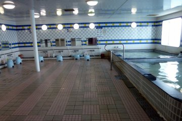 <p>The fantastic public segregated bath.</p>
