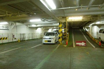 <p>One of the car storage areas.</p>