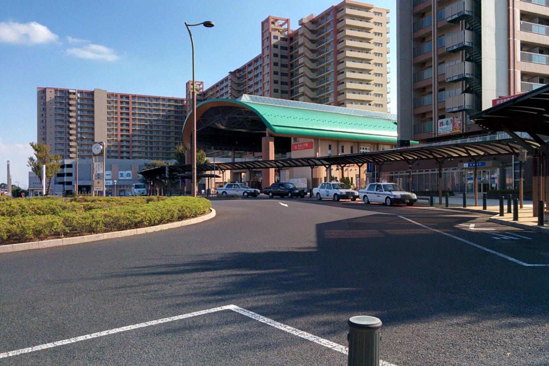 Miraidaira Station, probably your first stop in Tsukuba-mirai
