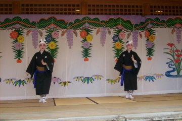 There are four or five different dances at each performance