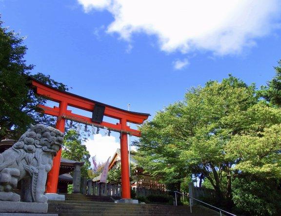 Keindahan Kuil Fujishima