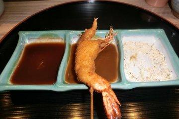 Shrimp Kushikatsu
