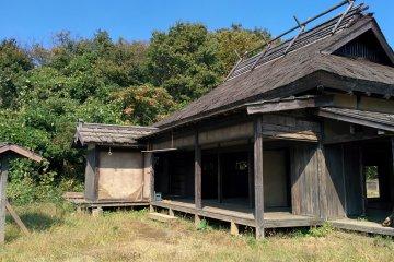 <p>Edo-period&nbsp;style house</p>