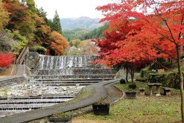 Gero Onsen in Autumn
