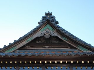 本堂の東屋根