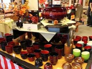 후쿠이·카와와다 칠기 숍