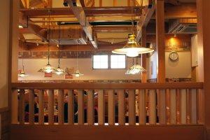 Nice wooden interior