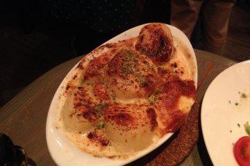<p>Potato gratin</p>