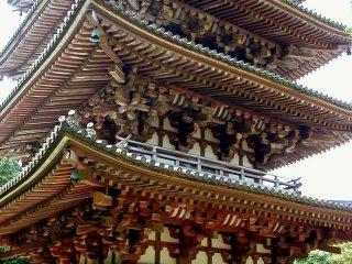 Daigoji has the oldest pagoda in Kyoto