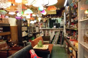 Vintage furniture shop