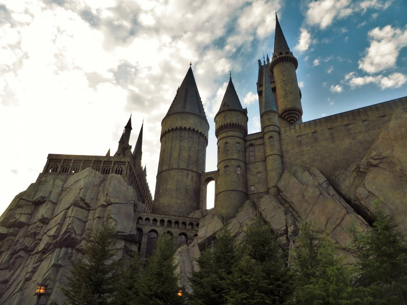 The wizarding world of harry potter osaka japan travel gua just looking at hogwarts was amazing to me gumiabroncs Images