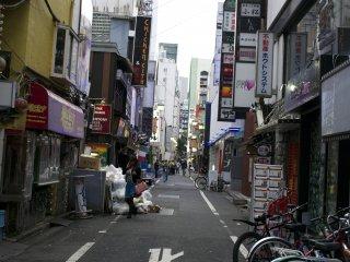 Nơi nào đó ở Shinjuku