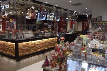 <p>Delectable goodies in the basement</p>