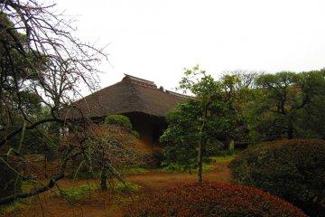 Kobuntei seen from the outside, inside its own garden