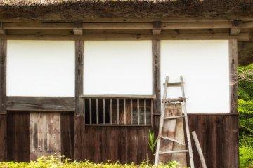 일본 어디에서나 보기 힘든 오래된 집들도 많습니다