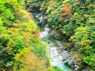 One of the most scenic valleys in Japan