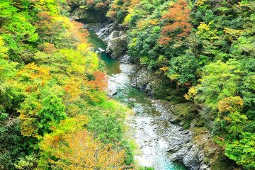 <p>One of the most scenic valleys in Japan</p>