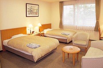 <p>Twin room</p>